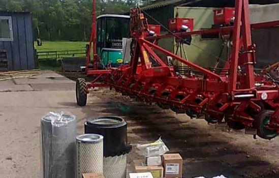 brandstof en oliefilter voor new holland