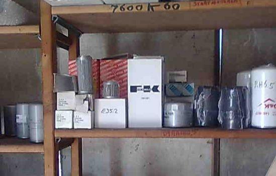 brandstof en olie filters voor  O&K